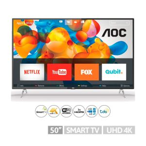 "Smart Tv LED 50"" AOC 4K UHD"