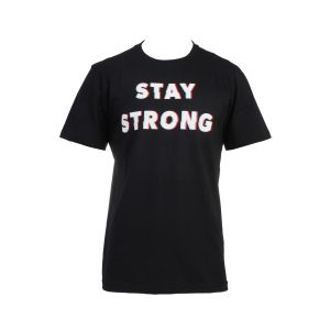 REMERA HOMBRE TOPPER STAY STRONG NEGRO