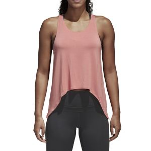 MUSCULOSA MUJER ADIDAS KNOT CORAL