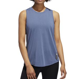 MUSCULOSA MUJER ADIDAS ADAPT W GRIS OSCURO