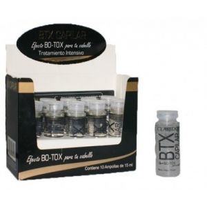 CLARIDGE AMP.BTX CAPILAR X15ML