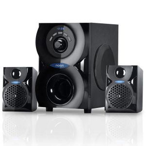 Parlantes Bluetooth Noga Spark Home Theaters 2.1 Usb Radio