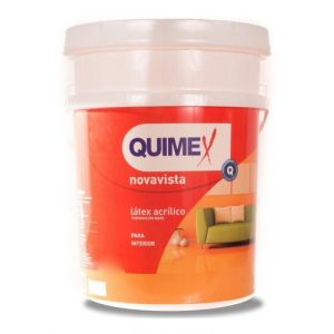 Pintura Latex Interior Quimex 20 Lts Blanco