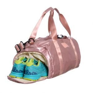 Bolso Viaje Deportivo Impermeable Amayra Fit Color Rosa 16361