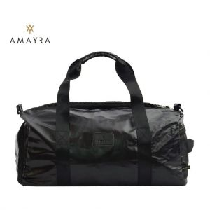 Bolso Viaje Deportivo Impermeable Amayra Fit  Color Negro 16361