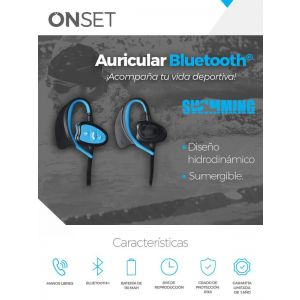 Auricular Bluetooth® SWIMMING ONSET EBT1000