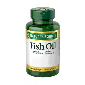 Natures Bounty Fish Oil 60 Comprimidos