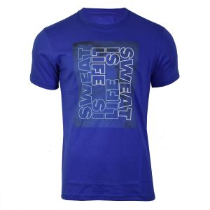Remera Topper Gtm Life Is Sweat Hombre Blue