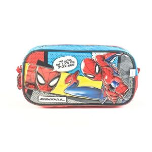 Portalapices Spiderman Sense Oval Celeste