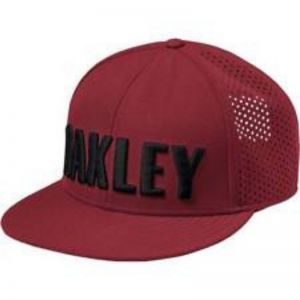 Gorra Oakley Perf Hat Bordo