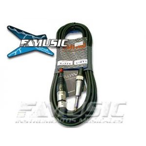Cable Microfono Racker-sm Mp-402 Neutrik Canon/plug 3mts