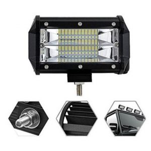Faro Proyector Led 72w 12/24v Rectangular. Largo (14cm)