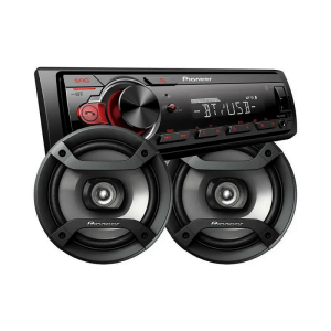 AUTOESTEREO PIONEER MXT-S216BT+PARLANTES