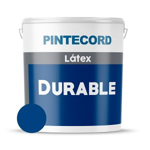 PINTURA LATEX EXTERIOR LAVABLE DURABLE AZUL TRAFUL 4 LTS PINTECORD