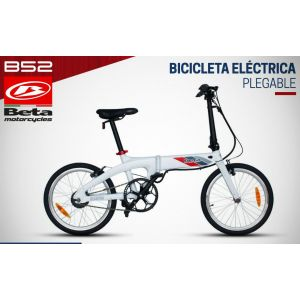 BICICLETA ELECTRICA PLEGABLE ELCTRICYCLES BETA  B52 ROD 20""