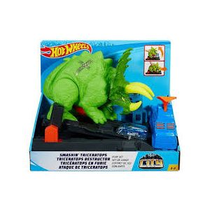 PISTA HOT WHEELS ATAQUE DE TRICERATOPS