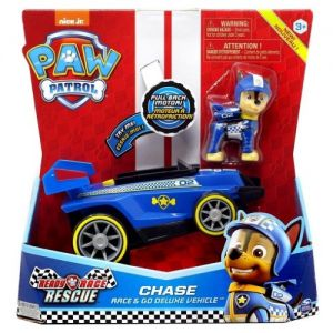 Vehiculo Deluxe Paw Patrol Chase- Juguetes Cachavacha
