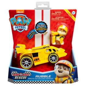 Vehiculo Deluxe Paw Patrol Rubble- Juguetes Cachavacha