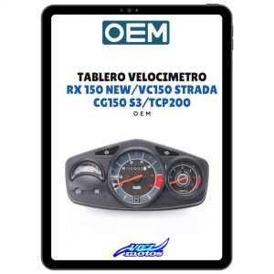 Tablero Velocimetro Zanella RX150 New